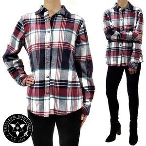 Orvis Women's Plaid Fleece Lined Shirt Jacket NWT!
